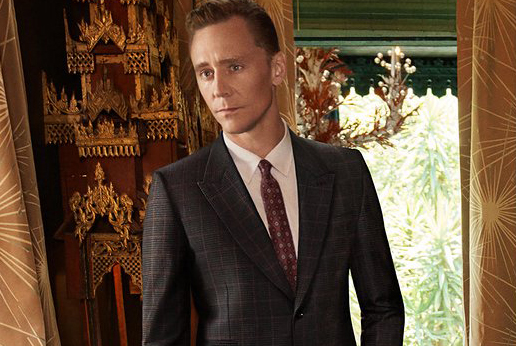 Tom Hiddleston Looks Suave in New Gucci Campaign Ads
