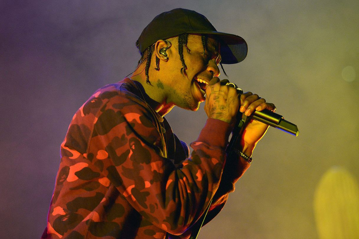 Travis Scott Reveals Release Month and Executive Producer for G.O.O.D. Music's 'Cruel Winter' LP