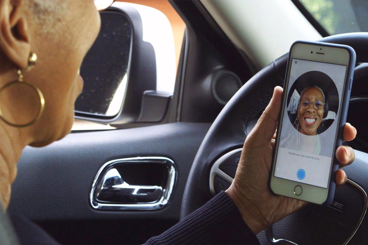 Uber Driver Selfies