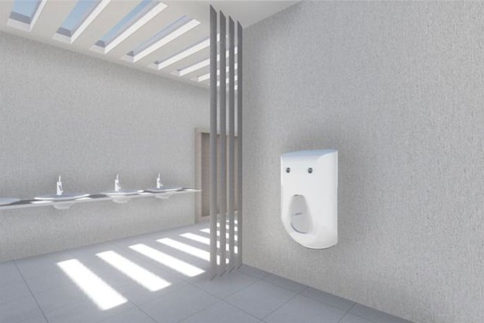 The Urinal 2.0 Doubles up as a Bidet