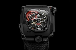 Urwerk Updates Its EMC to Create the Time Hunter X-Ray