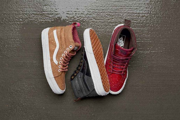 Vans Unleashes an All-Weather MTE Footwear and Apparel Collection for 2016 Fall