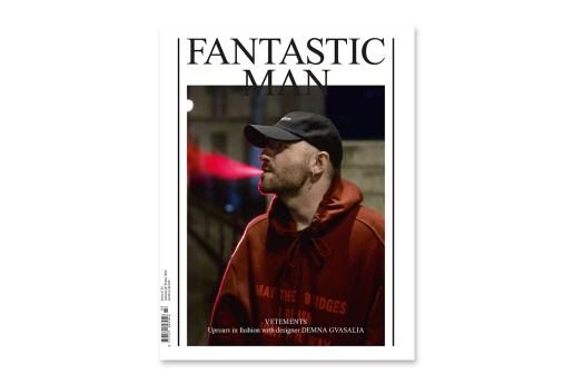 Vetements' Demna Gvasalia Covers FANTASTIC MAN's Issue 24 in Style