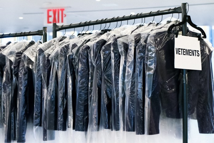 Vetements Installs Stock Room-Themed Concept Store Inside Saks Downtown