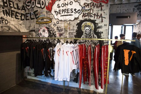 VLONE Gives Slam Jam a Religious-Inspired Makeover for Its Recent Pop-Up Event