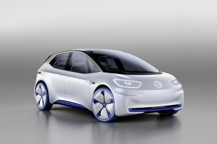 Volkswagen Unveils Its All-Electric MEB Concept