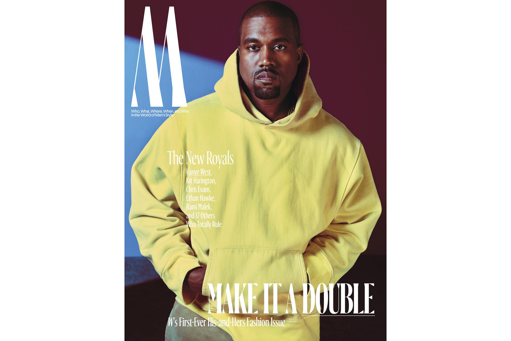 Kanye West, Halle Berry, Rami Malek and More Crowned 2016 Royalty by 'W Magazine'