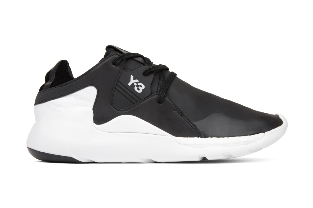 Hits of Leather and Suede Land on the Brand New Y-3 QR Run