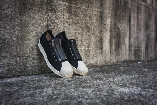 The adidas Originals Superstar Gets a Zipper-Heavy Neoprene Makeover