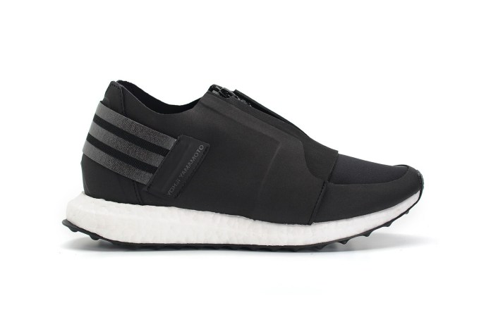 "Y-3 Introduces the X-Ray Zip Low BOOST in ""Core Black"""
