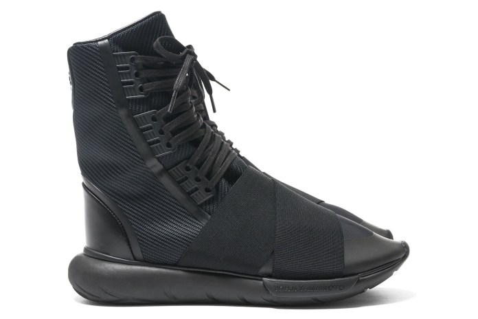 Yohji Yamamoto & adidas Transform the Y-3 Qasa Into a Boot