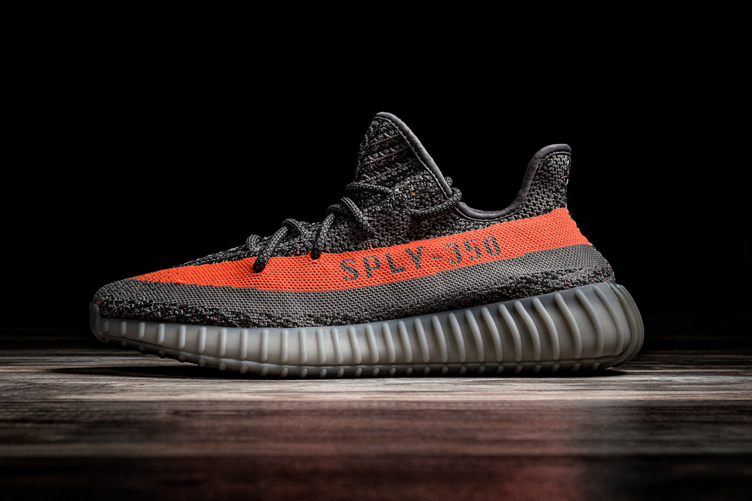 Newest Updated UA Yeezy Boost 350 V2 Bred SPLY 350 Black Red