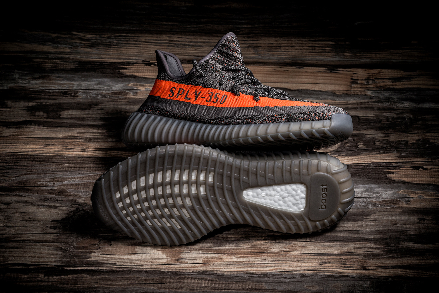 Adidas Yeezy Boost 350 v2 Steeple Gray Beluga Solar Red