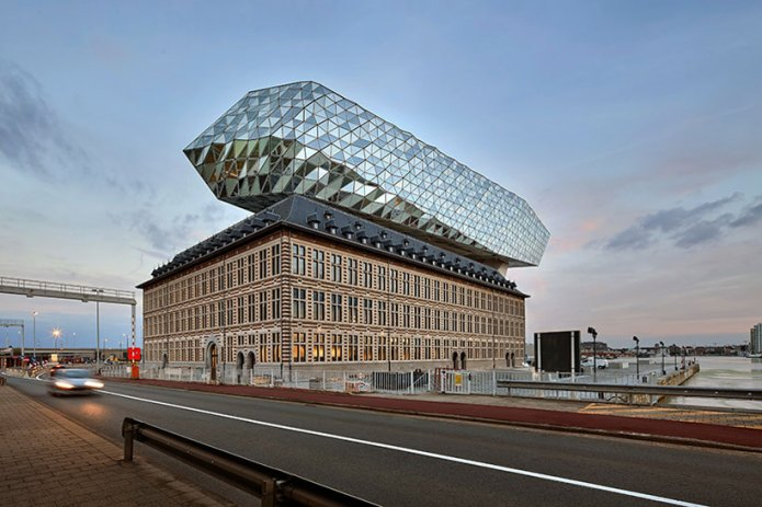 Zaha Hadid Architects Completes Antwerp's New Port House