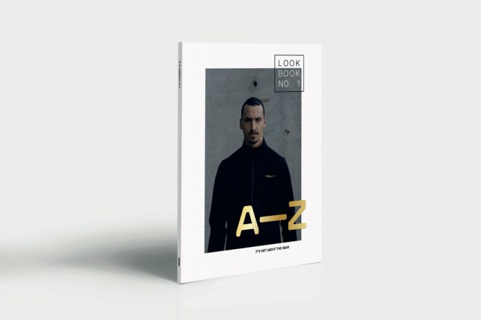 Zlatan Ibrahimović Flaunts A-Z Sportswear's Debut Collection in New Lookbook