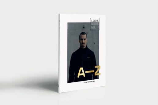 Zlatan Ibrahimović Flaunts A-Z Sportswear's Debut Collection in New Lookbook