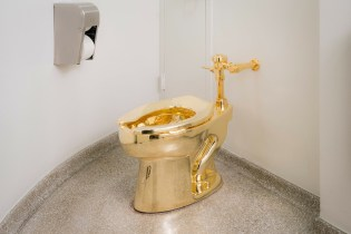 Watch the Throne: Visiting Maurizio Cattelan's 18K Gold Toilet at the Guggenheim
