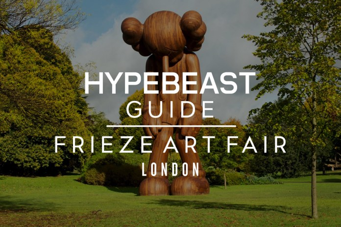 A Guide to London's Frieze Art Fair