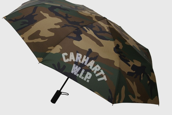 London Undercover Hides You From the Rain in Camo Carhartt WIP Collab