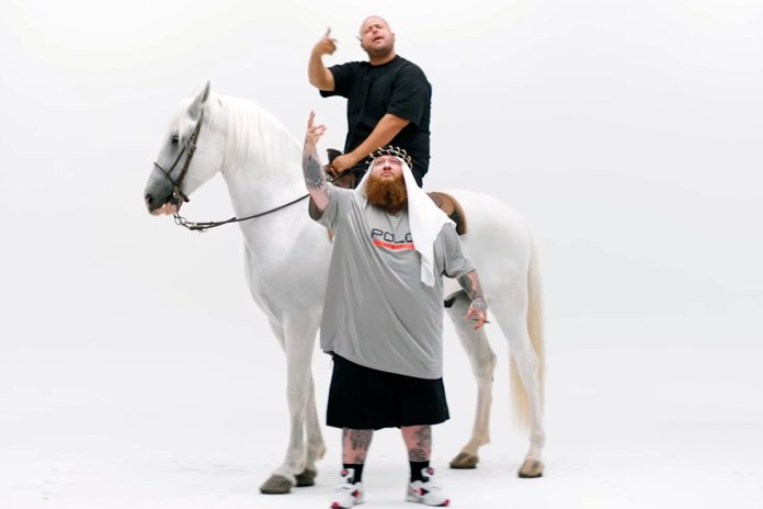 "Action Bronson Gets Outlandish in ""Durag vs Headband"" Video"