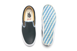 ACU Puts a Shanghai-Inspired Spin on the Vans Classic Slip-On