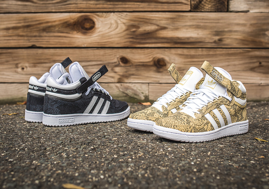 adidas Brings Back the Concord Mid II With Snakeskin Uppers