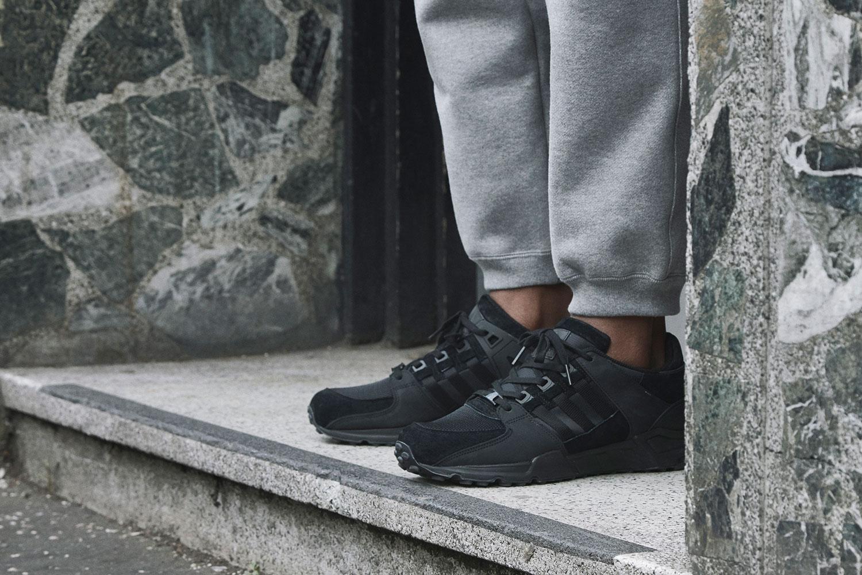 adidas Equipment 2016 FW Apparel Collection black grey green - 1765545