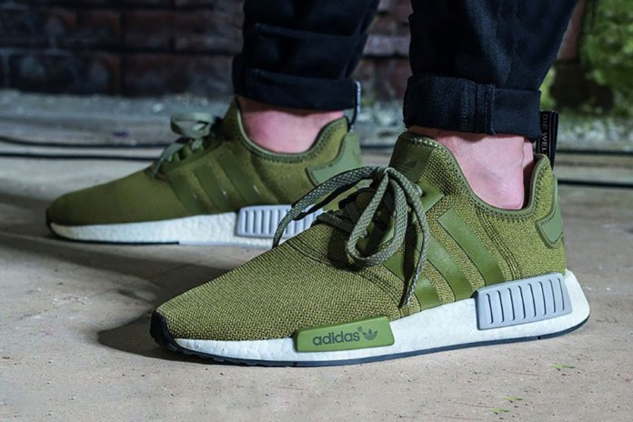 """The adidas NMD R1 """"Olive"""" Is Finally Available in the U.S."""