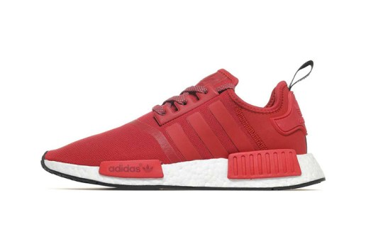 The adidas NMD R1 Gets Red Hot This October