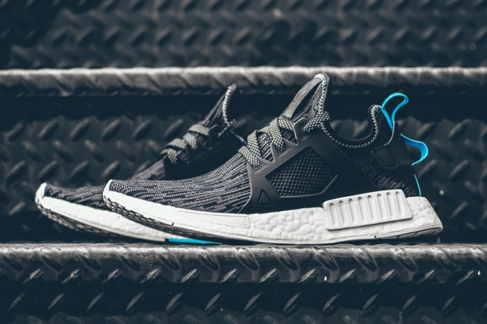"adidas Originals NMD XR1 ""Core Black/Sky Blue"""