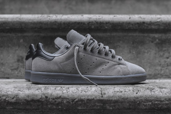adidas Covers the Stan Smith in Charcoal Suede