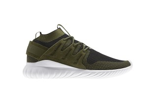 adidas Unveils an Olive Colorway of the Primeknit-Constructed Tubular Nova