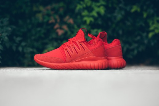adidas Gives the Tubular Radial an All-Red Makeover