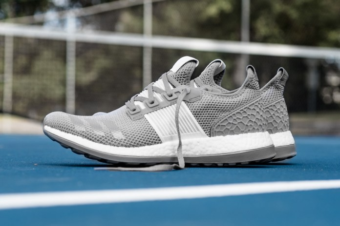 adidas Swathes the Coveted Pure BOOST ZG in Light Grey