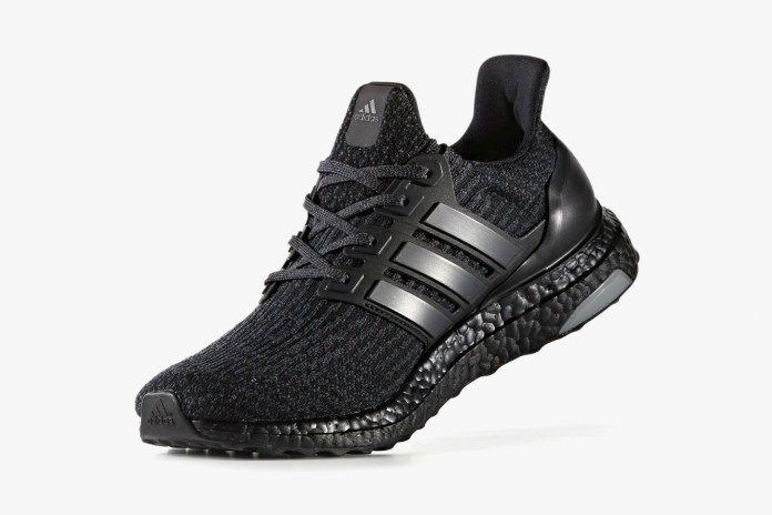 "The adidas Ultra Boost 3.0 Is Also Receiving the Popular ""Triple Black"" Treatment"