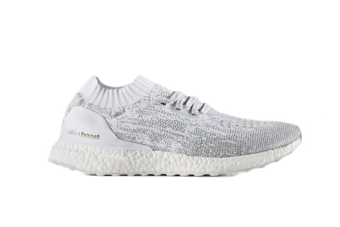 adidas's Ultra Boost Uncaged Returns in a Cool White, Grey and Silver Design