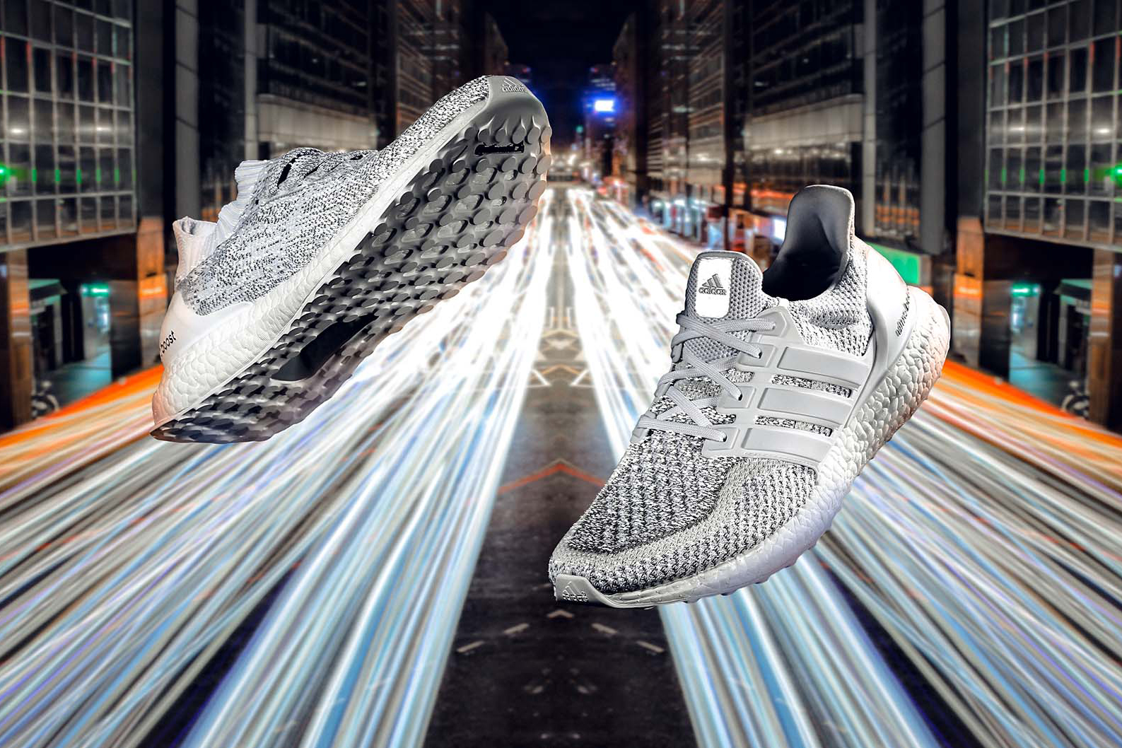 "Picture of A Closer Look at the ""White/Reflective"" Pack of adidas UltraBOOSTs"