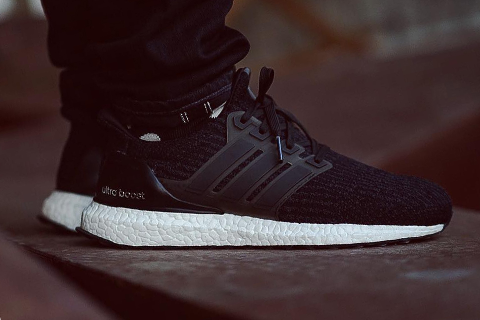 adidas Unveils the UltraBOOST 3.0 in Core Black
