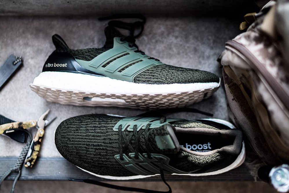 Picture of adidas Unveils the UltraBOOST 3.0 in Olive