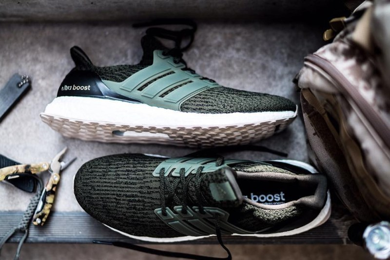 adidas Unveils the UltraBOOST 3.0 in Olive