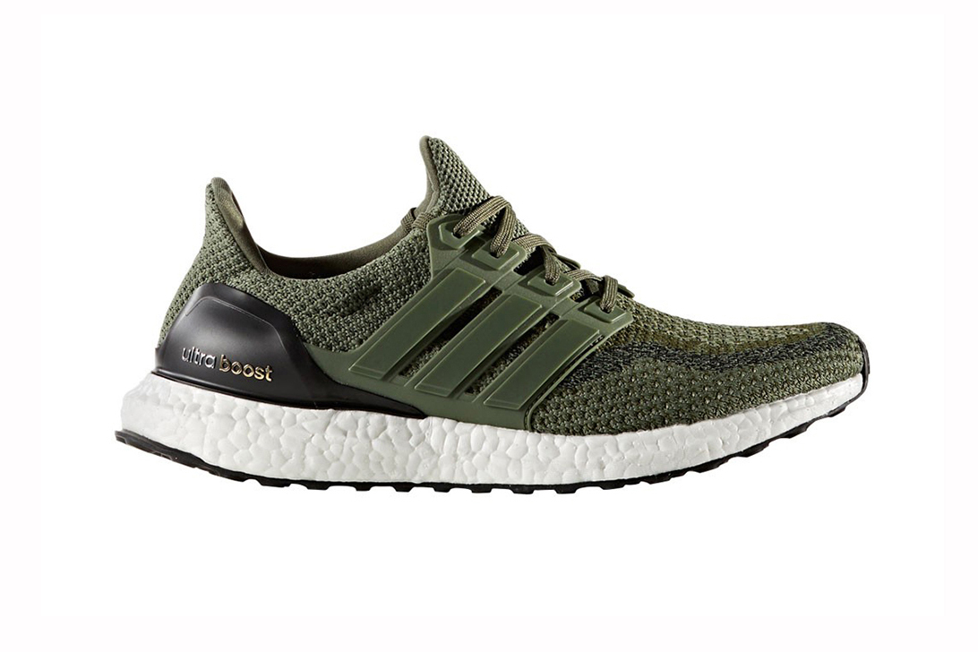 "adidas Releases the UltraBOOST ""Olive"" Just in Time for Fall"