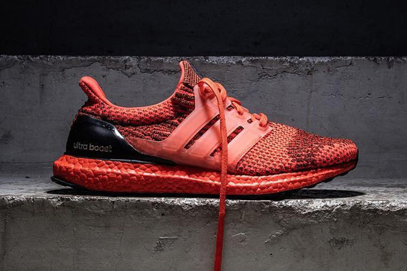 Here's Your First Look at the Red adidas UltraBOOST