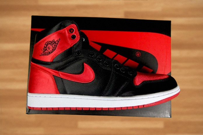 "Jordan Brand Unleashes a Limited Satin Air Jordan 1 to Commemorate Its ""Banned"" Anniversary"
