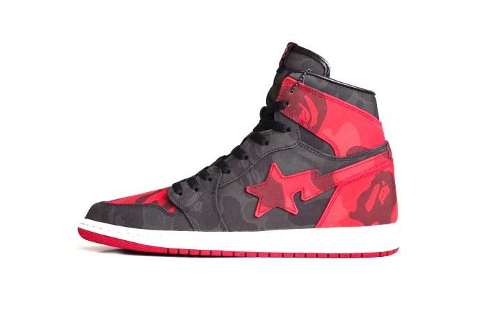 The Air Jordan 1 Gets a Custom Rework in BAPE Camo