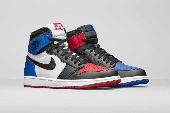 """An Official Look at the Melting Pot That Is the Air Jordan 1 """"Top Three"""""""