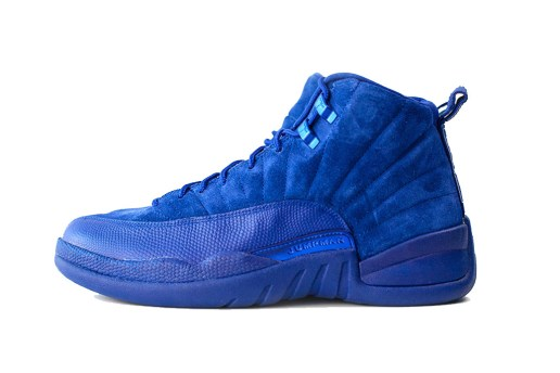 "The Air Jordan 12 Receives a Premium Makeover in ""Deep Royal"""