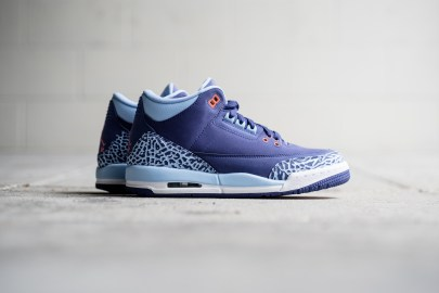 "Air Jordan 3 GS ""Dark Purple Dust"""