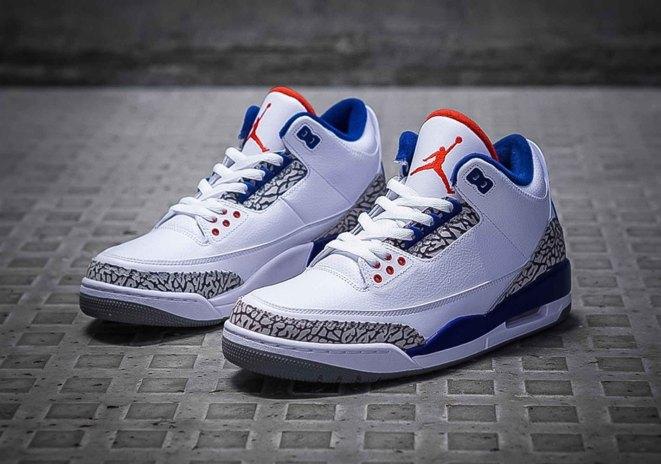 "The Air Jordan 3 ""True Blue"" Is Returning on Black Friday"