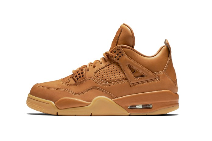 "Jordan Brand's Next Premium Model Brings ""Ginger"" to the Air Jordan 4"
