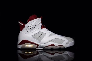 """The Air Jordan 6 """"Alternate"""" in White/Red Gets a Release Date"""